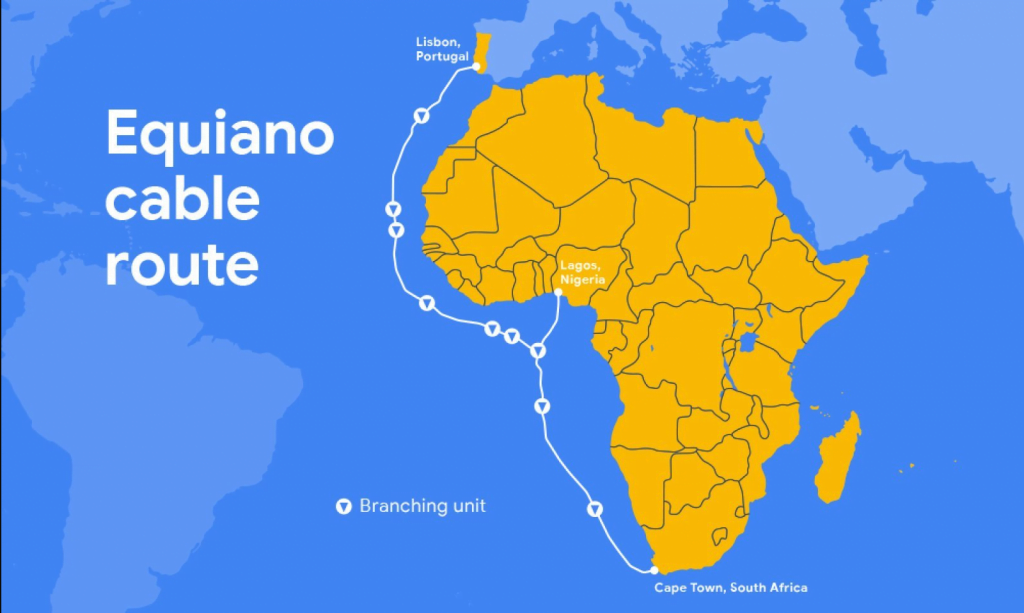 Google's next undersea internet cable will link